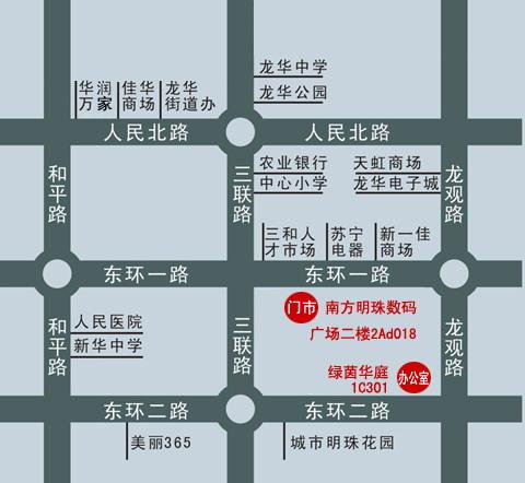 深圳观澜新田地图